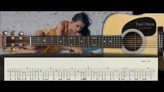 Gitar Dersleri - Sürgün Aşkımız ( Derya Uluğ ) - Taci Hoca : 0543 232 91 22