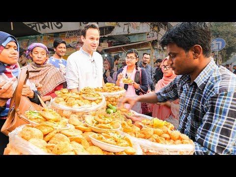 LEVEL 9999 Street Food in Dhaka, Bangladesh - The BRAIN FRY King + BEST Street Food in Bangladesh!!!