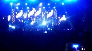 Wizkid - Pull over Live à Dakar [Monument de la renaissance]