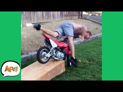 FAIL Over HANDLEBARS! 😅 | Funny Fails | AFV 2020