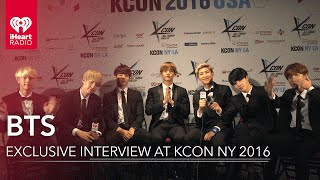 BTS Interview & Sing Live @ KCON NY 2016