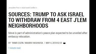 Antichrist Trump's Mideast Peace Covenant Being Revealed