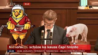 Babiš - Čapí hnízdo (Kuře a prase song)