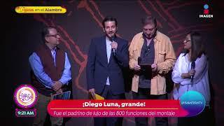 Diego Luna padrino de las 800 representaciones del Rey León | Sale el Sol