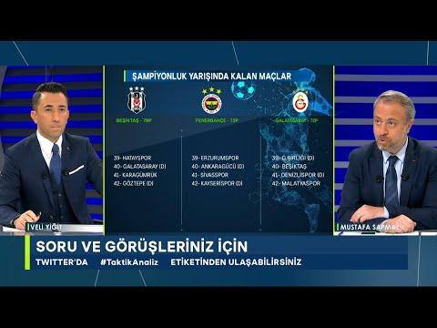 Veli Yiğit ve Mustafa Sapmaz ile Taktik Analiz- Beşiktaş, Fenerbahçe,Galatasaray,Ghezzal,Salih Uçan