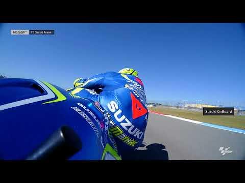 Dutch GP: Suzuki OnBoard