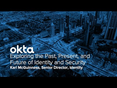 Okta Forum New York - Exploring the Past, Present, and Future of Identity and Security