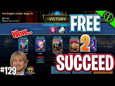 Casually Clearing FK 16. Also, Knock Knock? | Free 2 Succeed - EPISODE 129