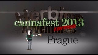 Cannafest 2013 - Prague - Herbies Event Trailer
