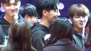 161030 INHO BOYS24 Live Concert - Hi-Touch session
