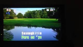 """""""Kung Akin Ang Mundo"""" by Erik Santos (Aldrine Agustin Cover) Videoke Version"""