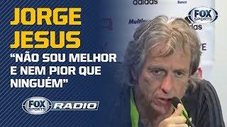 """JORGE JESUS INCOMODA OS TÉCNICOS BRASILEIROS? Assunto gera debate no """"FOX Sports Rádio"""""""