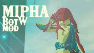 Playable Mipha in BotW Mod (Trailer)