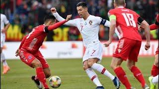 LUSSEMBURGO-PORTOGALLO 0-2 - Ancora CRISTIANO! Portogallo qualificato!