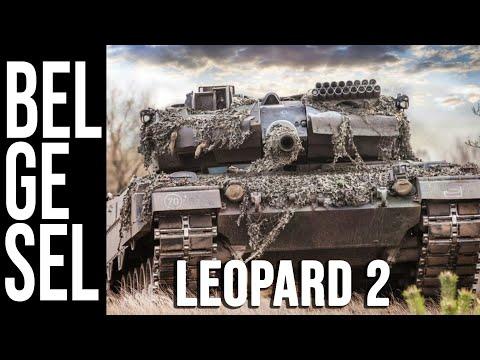 Leopard 2 Ana Muharebe Tankı Belgeseli