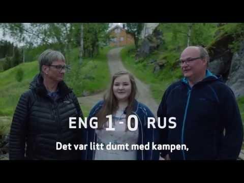Familien Ingebrigtsen får besøk av et engelsk par