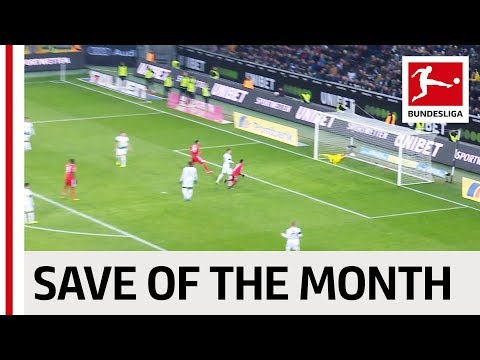 Vote For The Best Save of the Month - Neuer, Sommer, Gulacsi & More