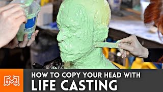 How to life cast (make a mold of your head)