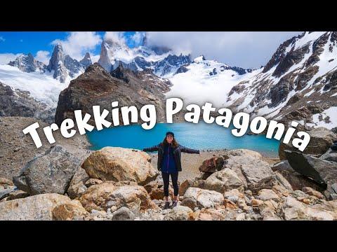 EPIC Trekking in PATAGONIA 😍   Mount FITZ ROY + Laguna de los Tres in El Chaltén, Argentina
