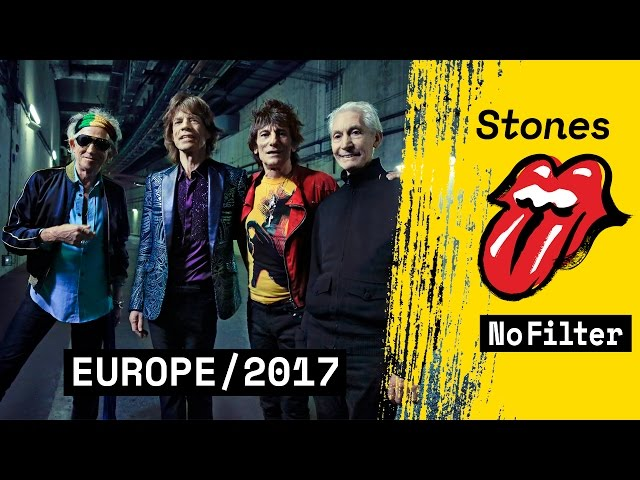 "Vídeo presentación de la gira europea ""No Filter"" de The Rolling Stones"