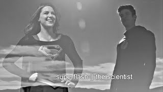 kara and barry || the scientist