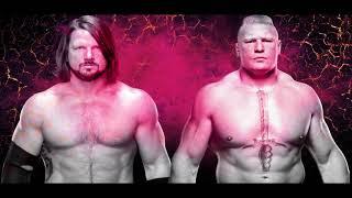 WWE AJ Styles & Brock Lesnar Mashup (Next Big Styles)