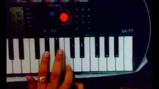 Fashion theme music on piano
