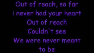 out of reach lyrics-gabrielle
