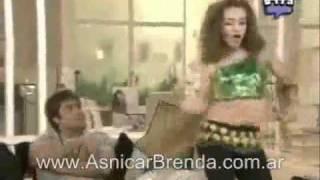 Antonella baila para Nicolas