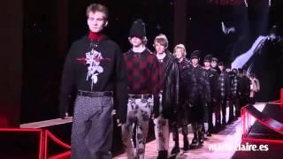 Así fue el desfile de Dior Homme