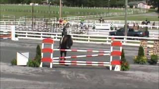 Porschia at St Christophers Horse Show 2012 JrAO Jumpers