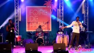 Blayi one haiti kompa à la Foire de Paris 2017