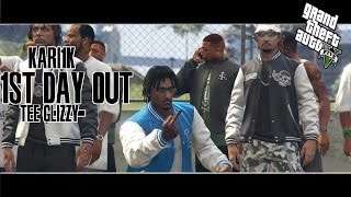 GTA 5 - TEE GLIZZY - FIRST DAY OUT (MUSIC VIDEO) @Tee_Grizzley