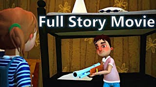 HELLO NEIGHBOR - FULL STORY Game Movie