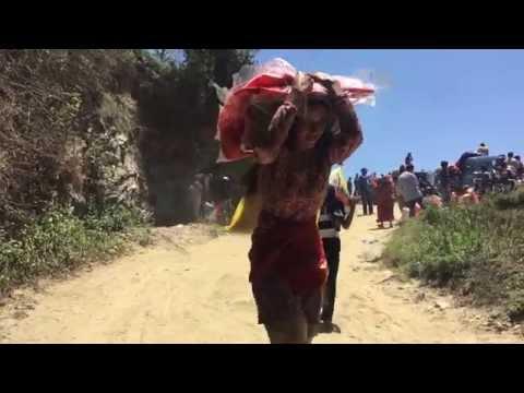 Plan International Aid distribution: Nepal Earthquake