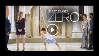 Zero First Teaser Trailer Review | Shahrukh Khan as Dwarf : First Look width=