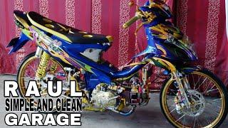 SIMPLE AND CLEAN GARAGE@ MODIFIKASI EXTREEM SUZUKI SMASH