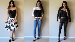How to Style: Corset Top