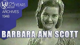 Barbara Ann Scott (CAN) - European Championships Prague 1948 - ISU Archives