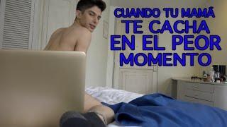 CUANDO TU MAMÁ TE CACHA EN EL PEOR MOMENTO feat. Mario Aguilar & SirPotasio