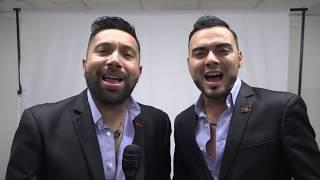 Integrantes de banda El Recodo visitan El Nuevo Diario