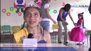 Colegio Universal elección de reina