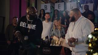 BLOOPERS:  The Belaire Bowl Cork Popping Championship