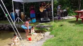 Funky Reggae Party at the Freedom Cafe in Naples, ME 7/25/15