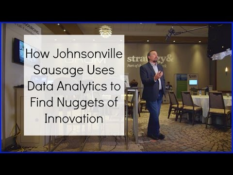 How Johnsonville Sausage Uses Data Analytics to Find Nuggets of Innovation
