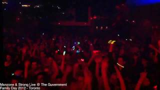 Manzone & Strong Live @ The Guvernment (Family Day 2012)
