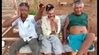 Três bêbados cantando música sertaneja - modão Sonhei com Você