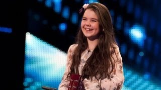 Lauren Thalia Turn My Swag On - Britain's Got Talent 2012 audition - International version width=