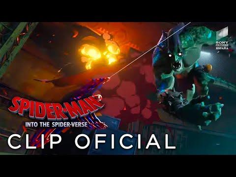 SPIDER-MAN: UN NUEVO UNIVERSO. Equipo de Spideys. En cines 21 de diciembre.