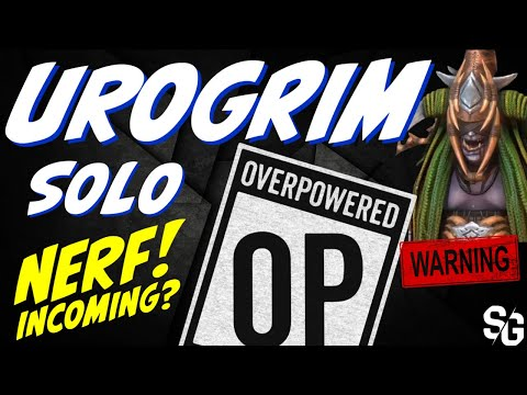 Urogrim NEW epic **NERF before release? SOLO Dragon 25 Raid Shadow Legends